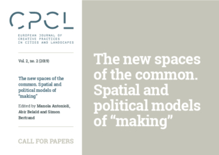 CFP: The new Spaces of the Common
