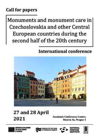 CFP: Monuments and monument care in Czechoslovakia and other Central European countries