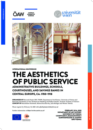 Poster: Conference Programme: Aesthetics of Public Service