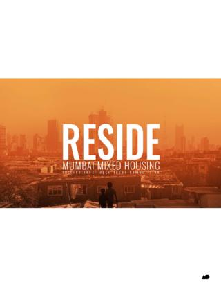 Competition Brief: RESIDE: Mumbai Mixed Housing