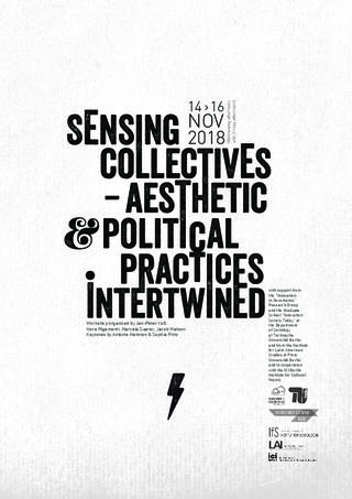 CFP: Sensing collectives - aesthetic and political practices intertwined