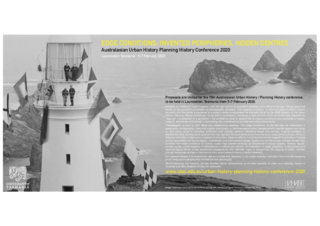Poster: Australasian Urban History Planning History Conference 2020