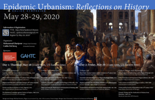 Poster - Epidemic Urbanism: Reflections on History