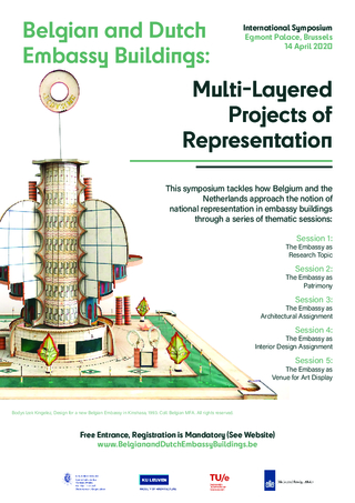 Poster - Belgian and Dutch Embassy Buildings: Multi-Layered Projects of Representation