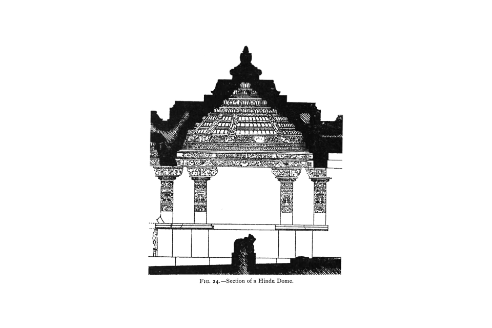 24. Section of a Hindu Dome.