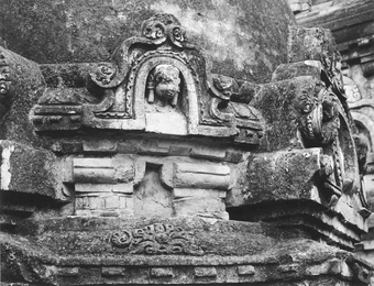 Temple 3 / Stupa 3 - votive stupa on north  Nalanda, stupa