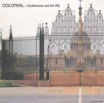 Frontispiece - Colonial – Architecture and the Raj  in Vistāra - The Architecture of India, Catalogue of the Exhibition