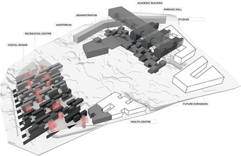 Site Layout - Massing