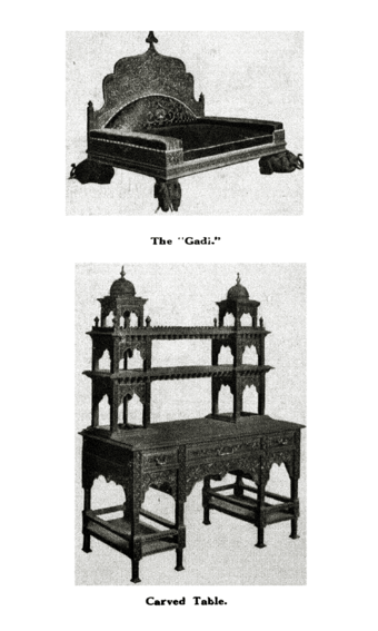"The ""Gadi"" and Carved Table"
