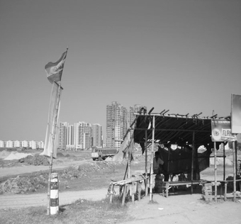 FIG. 5. The new horizon: Rajarhat New Town.