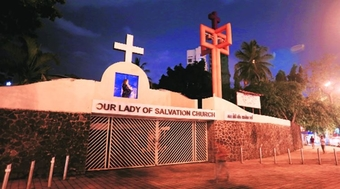 Our Lady of Salvation Church is one of the early churches in the island of Bombay, built by the Portuguese Franciscan Missionaries sometime between 1595 and 1610.