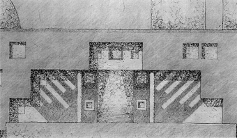 Study, South-East Elevation