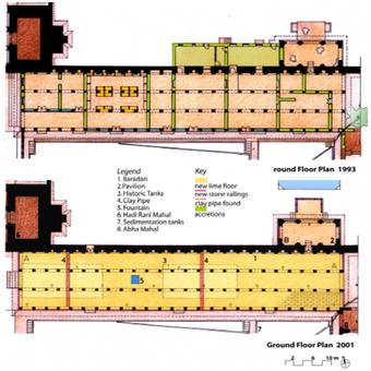 Rectangular Baradari Plan, 1993. and 2001.
