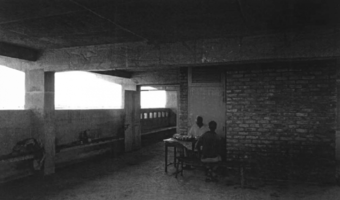 View of second floor in the Chakaria shelter.