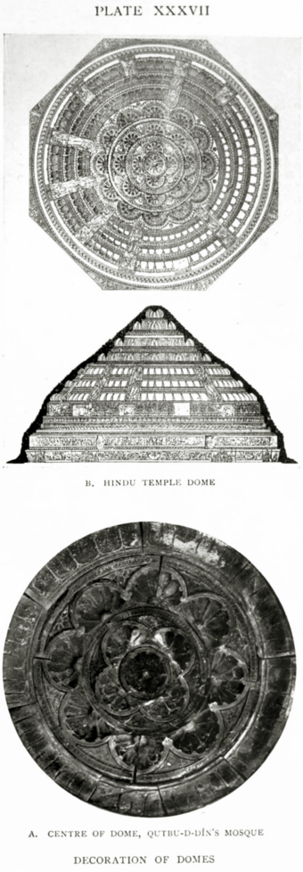 XXXVII. Decoration of domes.