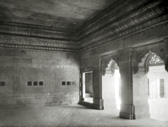 LXV. Mân Singh's palace, Gwalior: apartment adjoining courtyard.