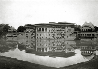 CVIII. The palace of Dîg: water front.