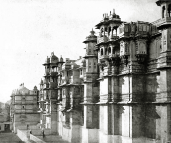CIX. The palace of Udaipur.