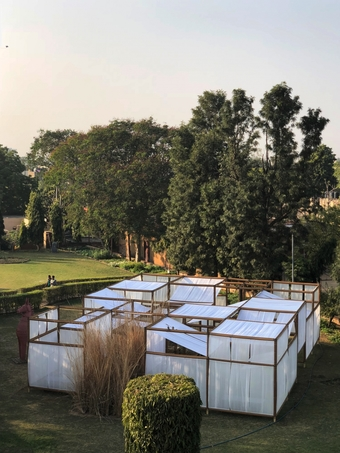 FIVE GARDENS AND A PAVILION by Samir Raut