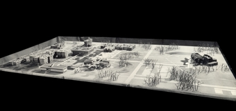 Site model for Indian Institute of Technology Campus, Kanpur