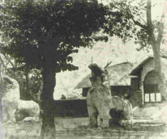 Fig 2. A 1890 Photograph Showing the Uttra and the Dragons in front