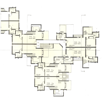 Unit, Second floor plan