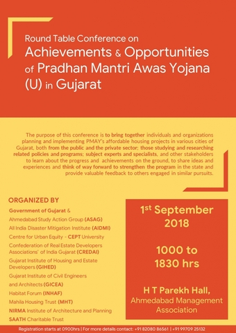 Poster: PMAY Gujarat Conference