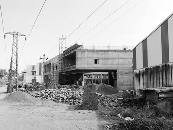 The factors under construction, street view