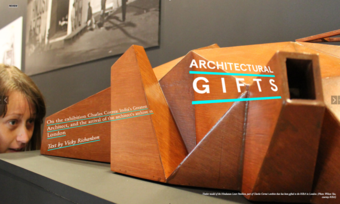 View of the architectural model, Exhibition - Charles Correa: India's Greatest Architect at RIBA, 2013