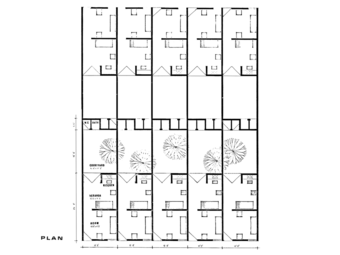 'Plan', category 1 (350 sft) housing