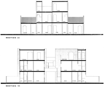 Sections, category 2 (520 sft) housing