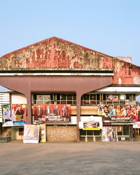 Pankaj Theater in Alleppey, India (Photographed by Stefanie Zoche and Sabine Haubitz)