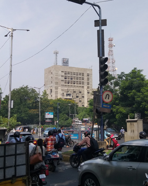 BSNL building at Hyderabad by Jeet Malhotra