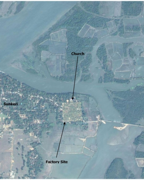 FIG. 6 Karwar factory location (map data © 2015 Google).
