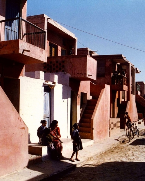 The Aranya low-cost housing project in Indore