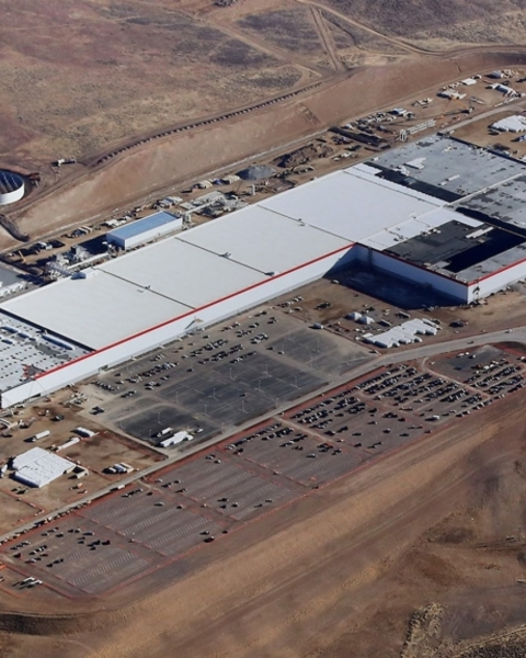 "The Tesla Gigafactory is being built in Nevada thanks to one of the recent tax-break ""megadeals"" awarded by cities and states"