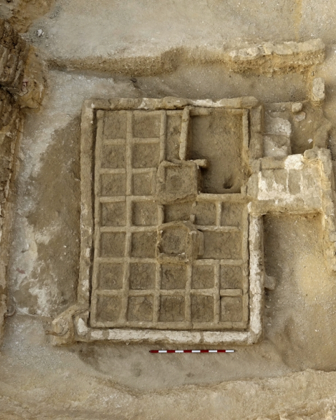 Funerary garden discovered by CSIC's research team.
