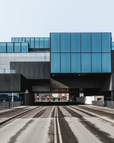 Drive-through architecture … OMA's Blox project in Copenhagen.