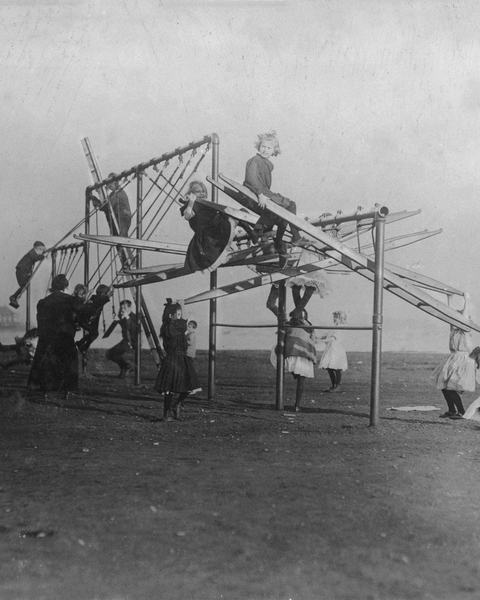 """The Dumps"" Turned into a Playground, Boston, 1909"