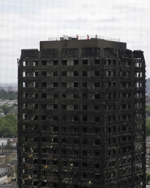 Police are carrying out a criminal investigation into the Grenfell Tower fire in west London.