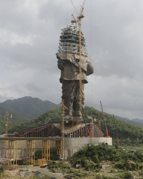 The Statue of Unity will be unveiled on 31 October
