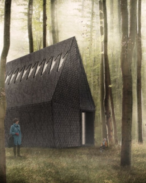 Asplund Pavilion rendering by MAP Studio