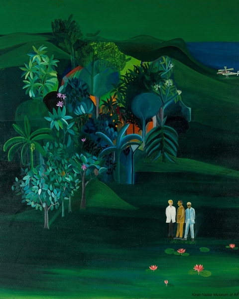 Bhupen Khakhar, American Survey Officer 1969