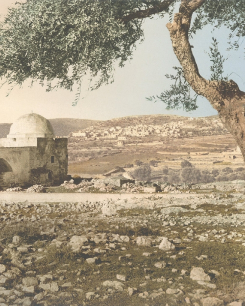 Tomb of Rachel. Jerusalem Holy Land, 1890–1900