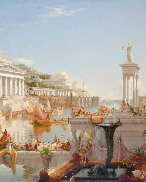Thomas Cole, 'The Course of Empire: The Consummation of Empire', 1835–6. Courtesy of the New-York Historical Society