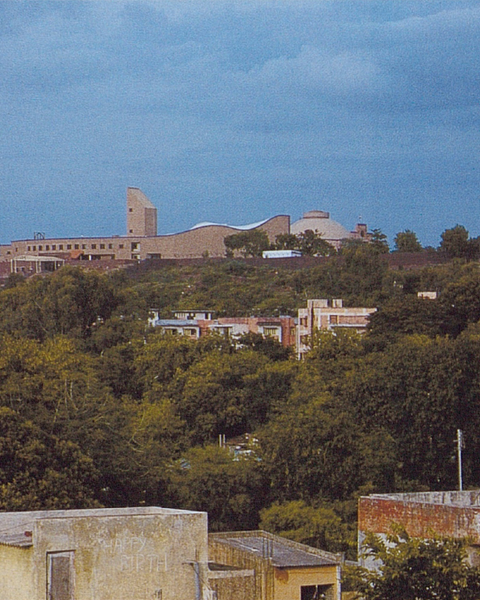 """""""Vidhan Bhavan sits on the crest of the Arerà Hill, overlooking the Madhya Pradesh capital city of Bhopal"""""""
