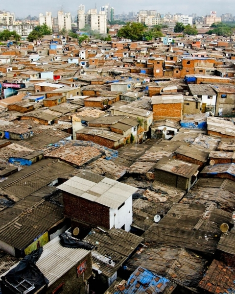 Dharavi in Mumbai, one of Asia's largest slums, has been pored over in photographs depicting its narrow alleyways and makeshift urbanity; desperation dressed up as architectural invention