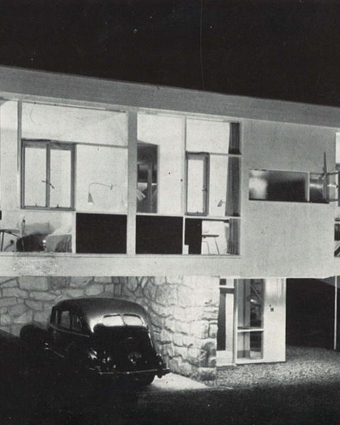Robin Boyd featured Harry Seidler's Rose Seidler House at Wahroonga in his article on 'opposing schools'. A New Eclecticism, Architecture Review, September 1951
