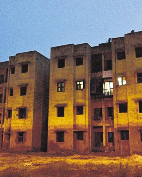 A government housing society with a single occupant.