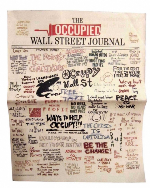 "Matthew Huynh, ""The Occupied Wall Street Journal"" (2011)"